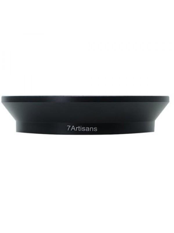 7ARTISANS  LENS HOOD  BLACK FOR 12MM F 2.8  FILTER 77MM