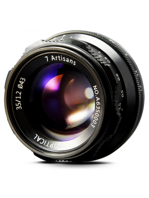7ARTISANS 35MM F1.2 APS C MANUAL FIXED LENS FOR SONY (E MOUNT)