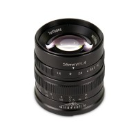 7ARTISANS 55MM F1.4 APS C MANUAL FIXED LENS BLACK  FOR SONY (E MOUNT)