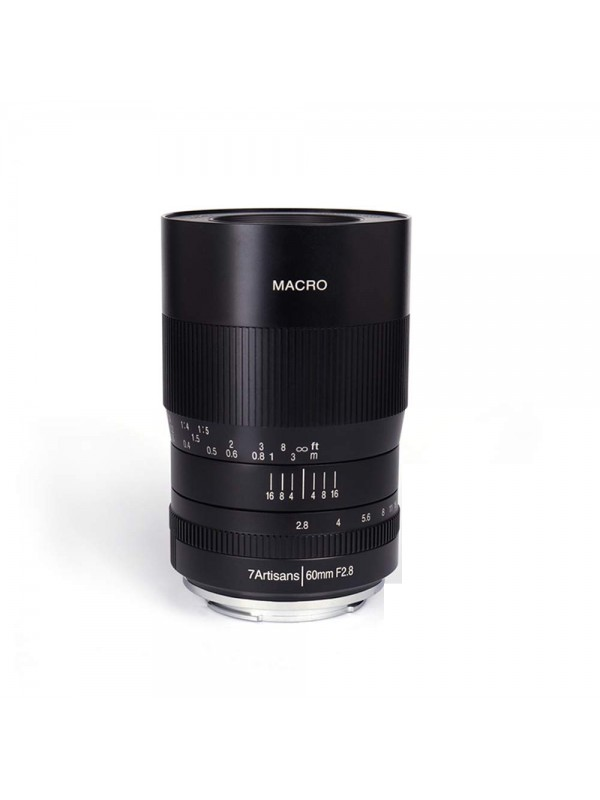 7ARTISANS 60MM F2.8  MACRO  APS C MANUAL FOCUS LENS FOR SONY E