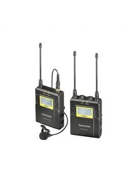 Saramonic UwMic9 RX9 + TX9, 96-Channel Digital UHF Wireless Lavalier Mic System