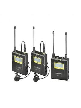 Saramonic UwMic9 RX9 + TX9 + TX9, 96-Channel Digital UHF Wireless Dual Lavalier Mic System