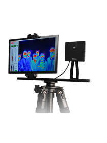 Thermal Camera for Body Temperature Monitoring with Face Detection and Alarm