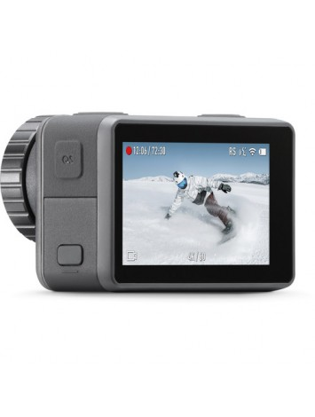 DJI OSMO Action Camera (Silver,Grey) | Dual Screen | 12 MP Camera | 4K Recording Upto 60 FPS | Fast Mode Upto 240 FPS | HDR Recording
