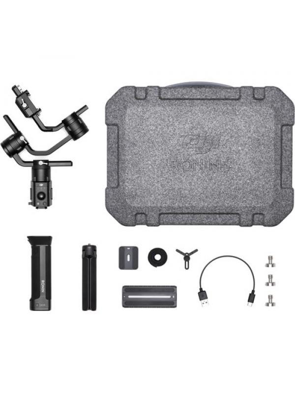 DJI Ronin-S Essentials Handheld Camera Gimbal for DSLR and mirrorless Cameras (Black)