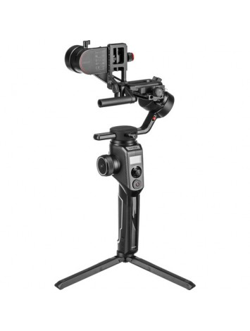 Moza Aircross 2 - Ultra-Lightweight 3-Axis Electronic Gimbal Stabilizer for Mirrorless Cameras (Max Payload (3.2kg) - Black