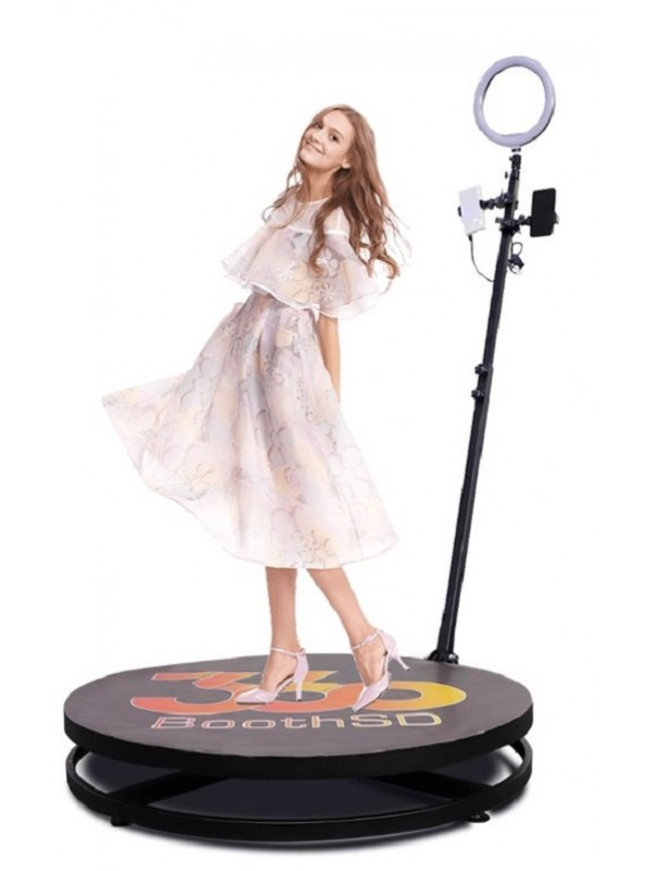 3ft Video Spinny Portable 360 Video Spinner Rotating 360 Degree Slow Motion Video Photo Booth For Weddings