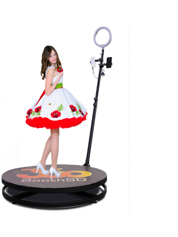 4ft 360 Video Spinner Video Spinny With 360 Degree Slow Motion Video Booth For Birthdays