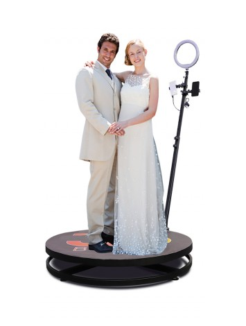 4ft Video Spinny Rotating 360 Degree Slow Motion Video Photo Booth Video Spinner For Parties