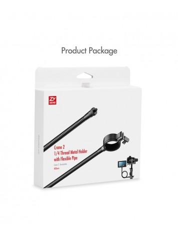 "Zhiyun Crane 2 1/4"" Thread Metal Holder with Flexible Pipe"