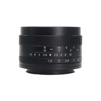 7artisans Photoelectric 50mm f/1.8 Lens for Sony E (Black)