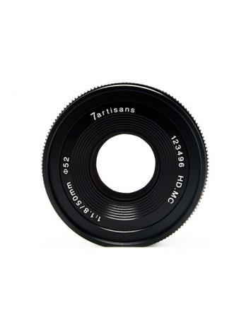 7artisans Photoelectric 50mm f/1.8 Lens for Sony E (Black)