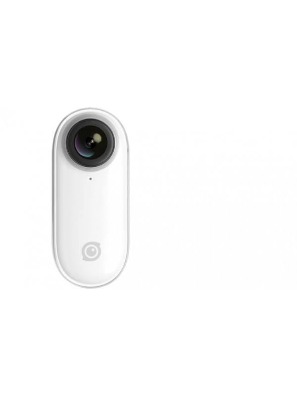 Insta360 GO Tiny Stabilized 1080p 30 Miniature Action Camera, Flow State 6-Axis Gyro Stabilization, Hyperlapse, Auto Editing, Barrel Roll, IPX4 Water Resistance