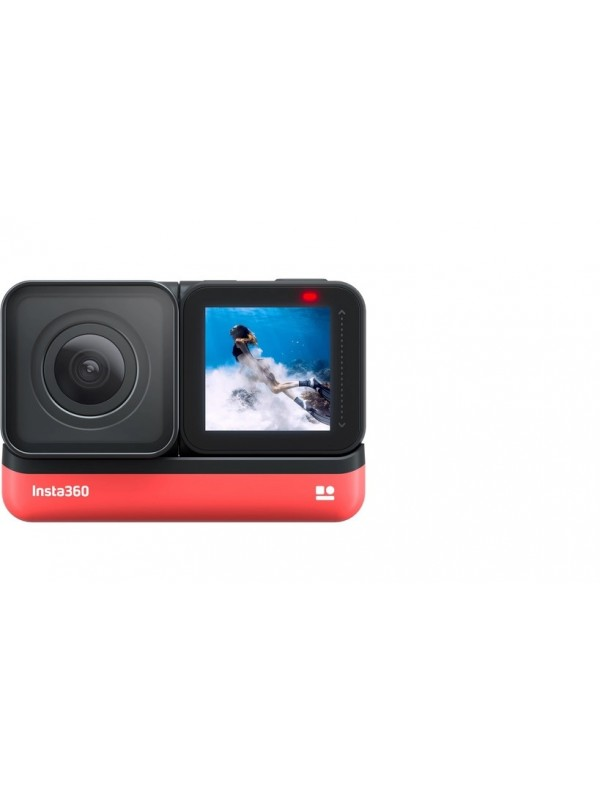 Insta360 ONE R 4K Edition ONE R 4K Edition Sports and Action Camera (Black, 12 MP)