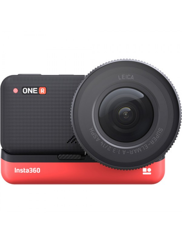 "Insta360 ONE R 1-Inch 64GB Edition With 1"" Sensor Mod Co-Engineered With Leica"