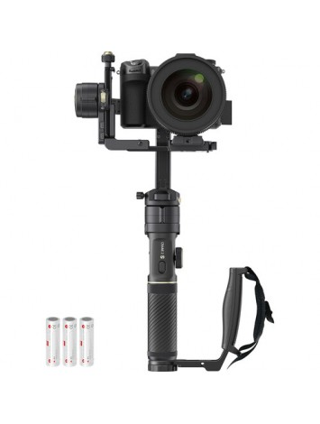Zhiyun Crane 2S Combo with Grip 3-Axis Handheld Gimbal Stabilizer for DSLR and Mirrorless Camera Compatible with Sony LUMIX Nikon Canon BMPCC 6K