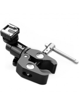 SMALLRIG 1125 UNIVERSAL CLAMP WITH COLD SHOE FOR LCD MONITORS