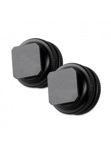 SMALLRIG 1631 COLD SHOE ADAPTER WITH 3 8 TO 1 4  THREAD (2PCS PACK)
