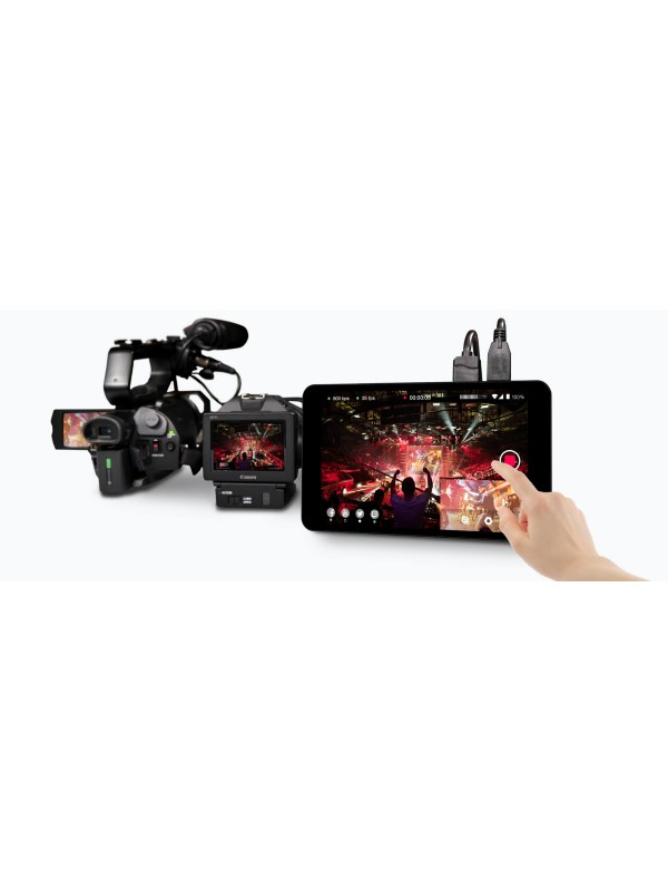 YoloLiv YoloBox Portable All-in-One Multi-Camera Live Streaming Encoder, Switcher, Monitor, and Recorder