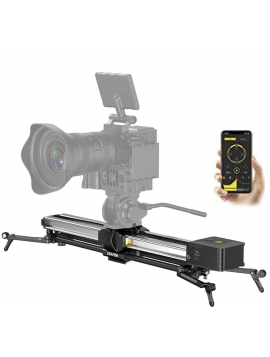 Zeapon Micro 2 E800 Motorized Double Distance Camera Slider, Travel Distance 94cm/37in Max. Payload 8kg/18lbs Ultra Silent Step Motor Power-Off Protection APP Supported Android & iOS