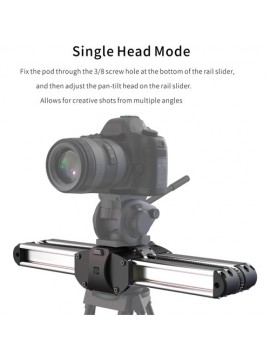 Zeapon Micro 2 Micro Rail Slider with EasyLock 2 & Ball Head Bundle