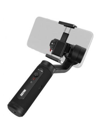 Zhiyun Smooth Q2 3 Axis Handheld Gimbal for Smartphone, Small Pocket Size 260g Max. Payload 360 Degree Rotation IOS & Android Supported Quick Release 17h Running Time, for Vlog YouTube Street Snapshot